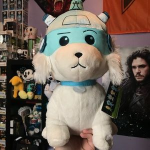 Funko Rick and Morty Snowball plush